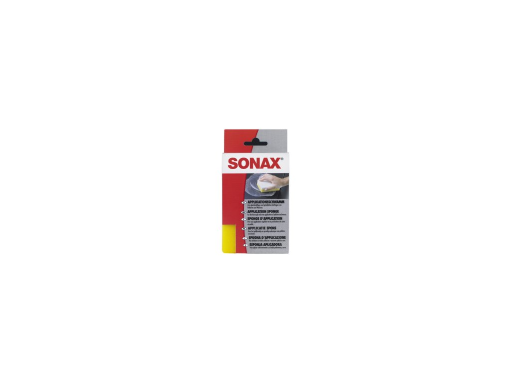 SONAX Aplikačná hubka - žltobiela 1ks