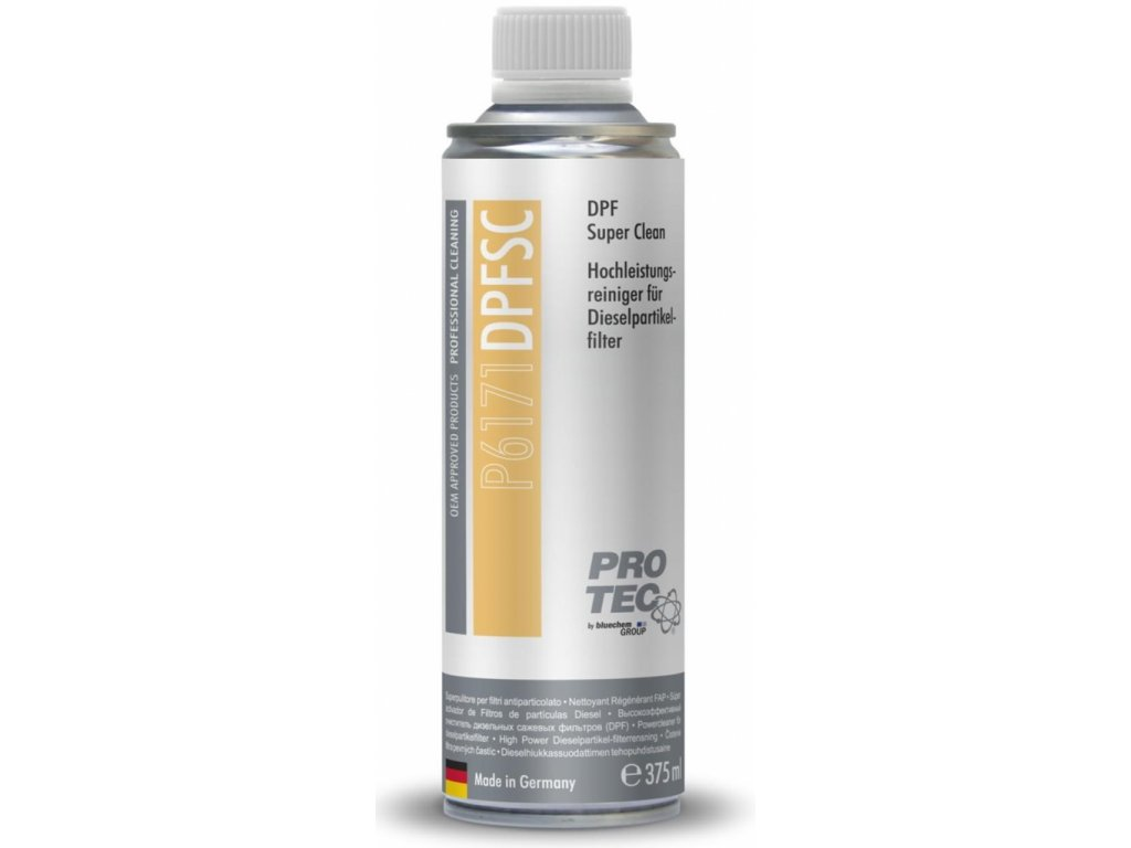 PRO TEC DPF Super clean 375 ml prísada do nafty