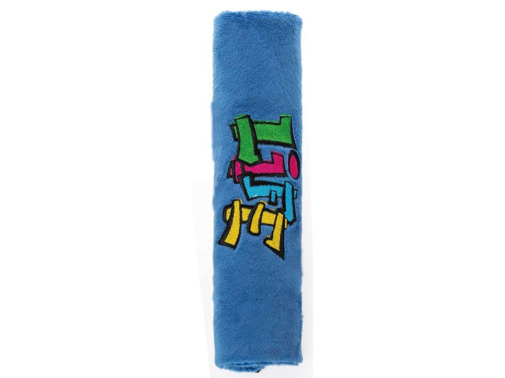 Walser chránič bezp. pásu Graffiti modrá