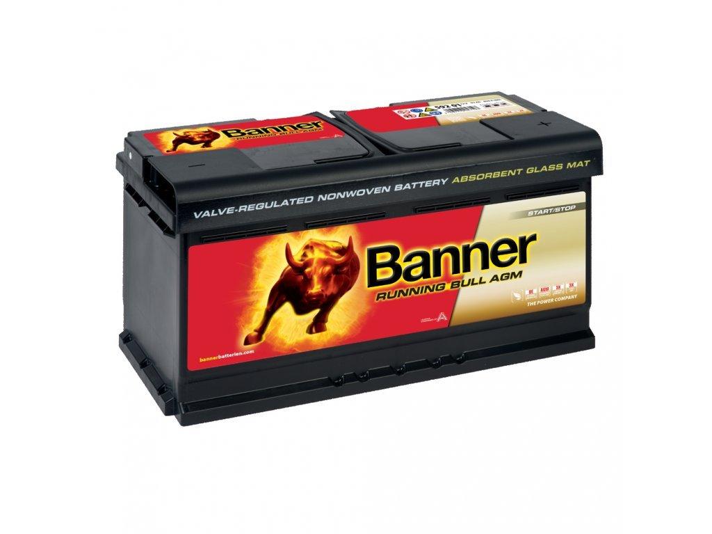 Banner RUNNING BULL (AGM) 12V 592 01