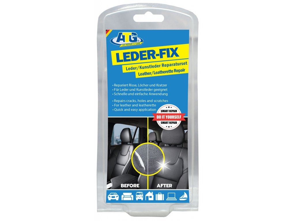 ATG005 LEDER FIX Leder Kunstleder und Vinyl Reparatu