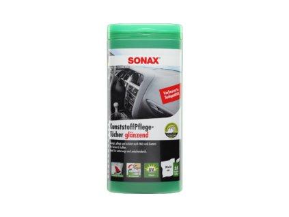 SONAX Čistiace utierky  na plasty 25ks