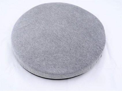 HP 360° otočná podložka na sedadlo šedá