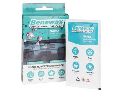 Walser Benewax NANO ochrana čelného skla
