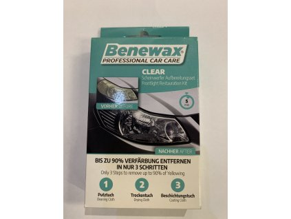 Walser Benewax Clear sada na reflektory
