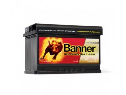 Banner RUNNING BULL (AGM) 12V 570 01