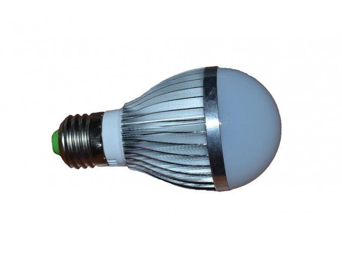 LED žárovka 5W 12V E27 600Lm 2700-3500K teplá bílá