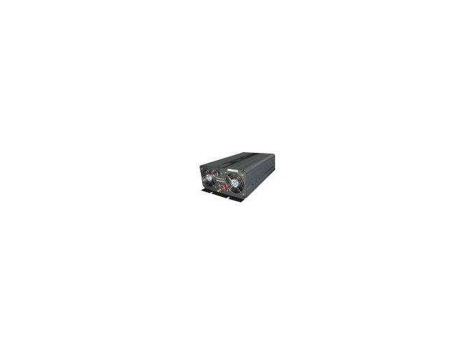 Měnič napětí Carspa CPS2000-12 12V/230V 2000W, čistá sinus, s nabíječkou 12V/15A a funkcí UPS