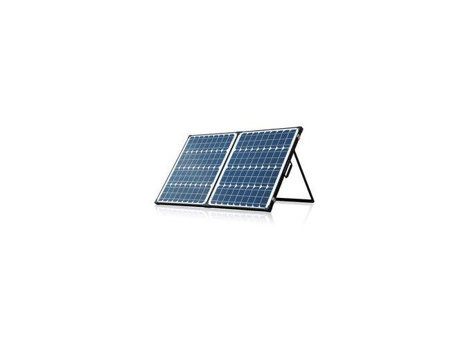 Fotovoltaický solární přenosný set 2x50W s regulátorem
