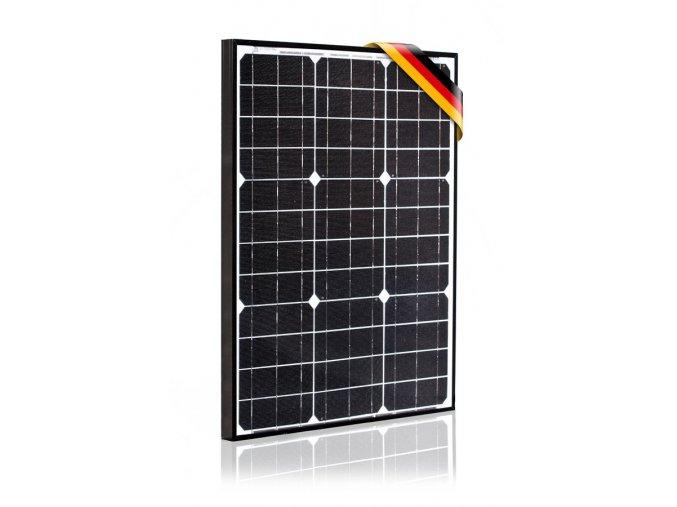 Fotovoltaický panel Prestige 50W monokrystalický, články SolarWorld