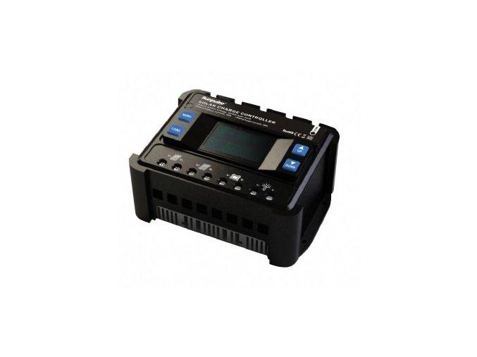 Solární regulátor ENS12/24-40D s LCD, volitelně 12V/40A nebo 24V/40A