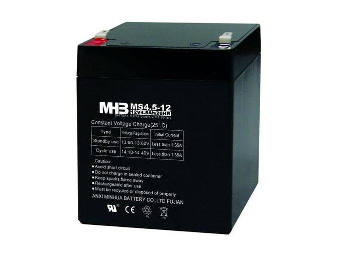 Baterie MHB Power VRLA AGM 12V/4.5Ah (MS4.5-12)