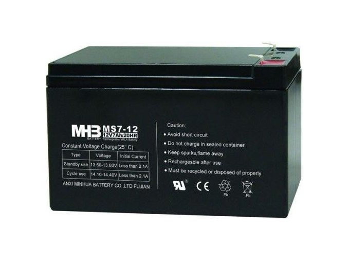 Baterie MHB Power VRLA AGM 12V/7Ah (MS7-12)