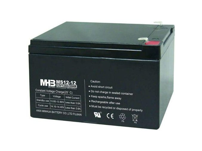 Baterie MHB Power VRLA AGM 12V/12Ah (MS12-12)