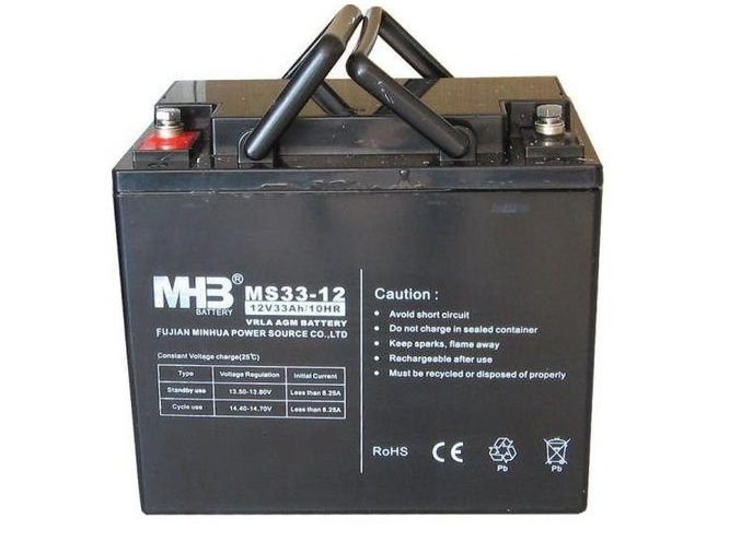 Baterie MHB Power VRLA AGM 12V/33Ah (MS33-12)