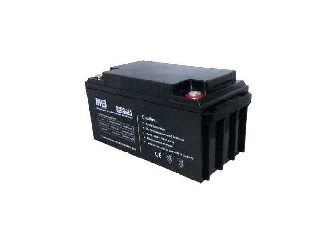 Baterie MHB Power VRLA AGM GEL trakční 12V/65Ah (MS65-12)