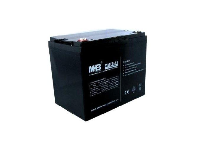 Baterie MHB Power VRLA GEL trakční 12V/75Ah (MNG75-12)
