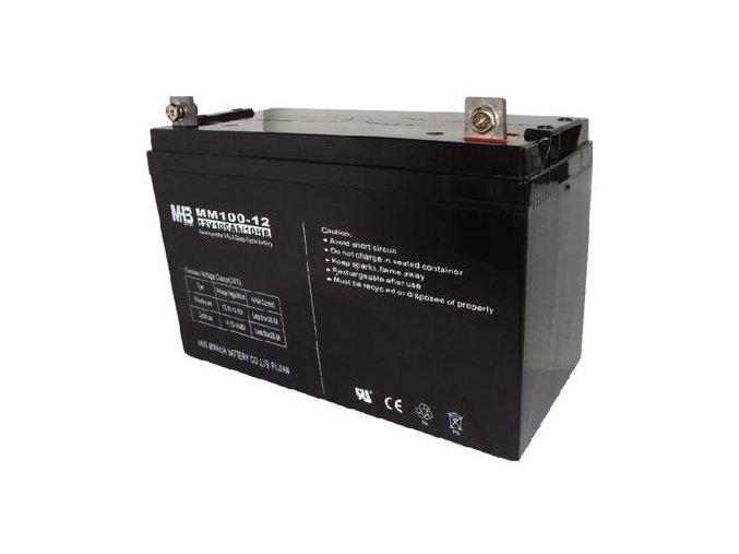 Baterie MHB Power VRLA AGM GEL trakční 12V/100Ah