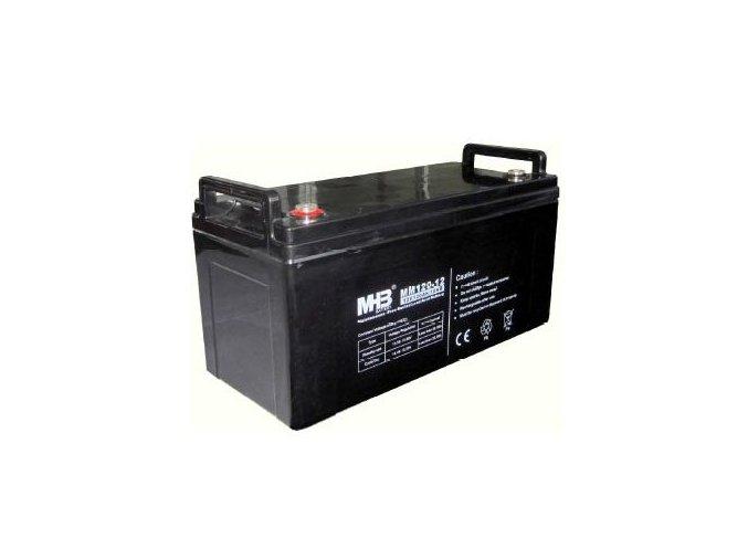 Baterie MHB Power VRLA AGM GEL trakční 12V/120Ah (MS120-12)