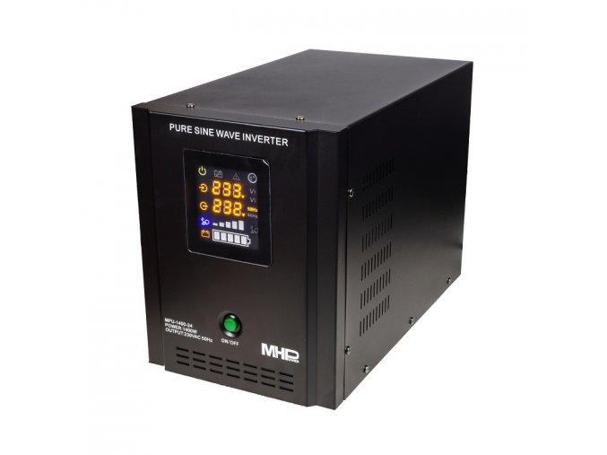 zalozni zdroj mhpower mpu 1400 24 ups 1400w cisty sinus 24v i36388