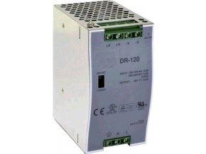 Průmyslový zdroj CARSPA DR-120-24 na DIN lištu 120W, 24V