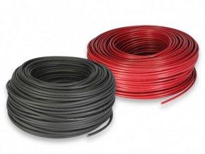 Solární kabel měděný 1x4mm2 - černý