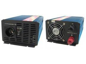 Měnič napětí Carspa P1000-24 24V/230V 1000W, čistá sinusovka