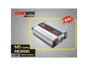 Měnič napětí Carspa MS800-122 12V/230V+USB 800W, modifikovaná sinus