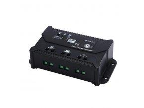 Solární PWM regulátor CARSPA ENS12/24-10, autodetekce 12V/10A nebo 24V/10A