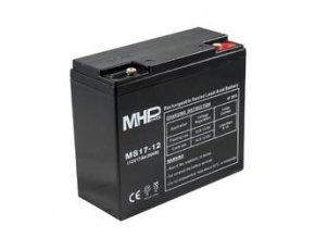 Pb akumulátor MHPower VRLA AGM 12V/17Ah (MS17-12)