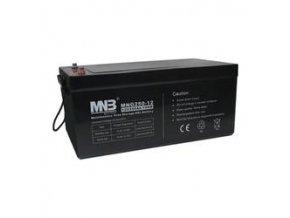 Pb akumulátor MHB VRLA GEL trakční 12V/250Ah (MNG250-12)