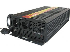 Měnič napětí Carspa EPS3000-12 12V/230V 3000W s nabíječkou 12V/15A a funkcí EPS