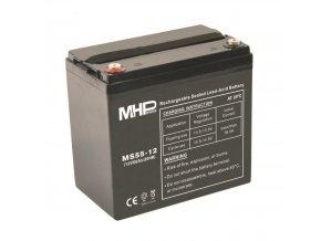 pb akumulator mhpower vrla agm 12v 55ah ms55 12 terminal t1 m6 i35921