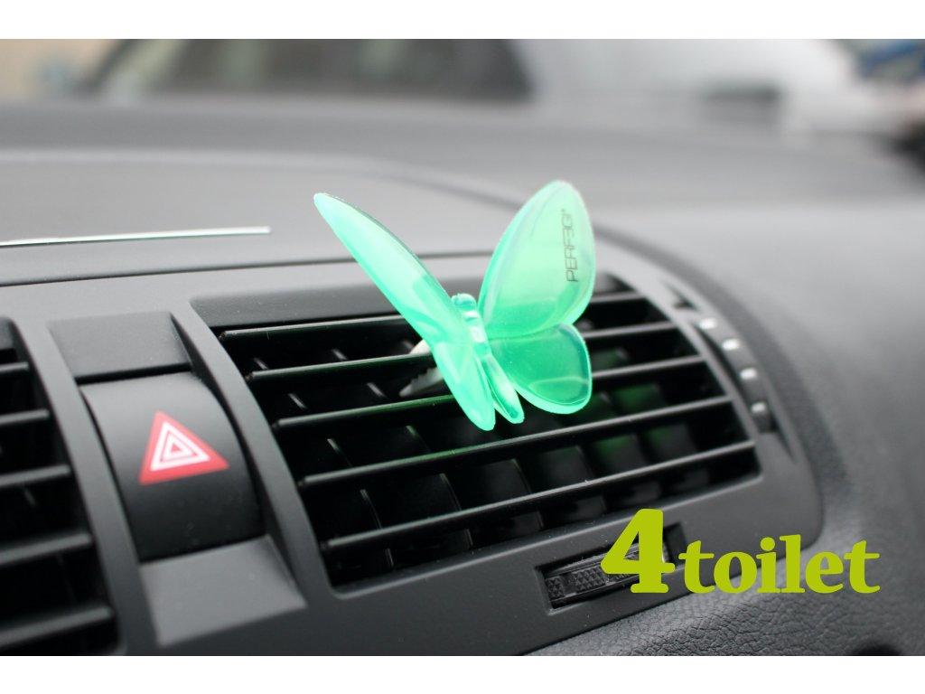 Vůně do auta Motýlek Wild Bluebell - 4TOILET.cz