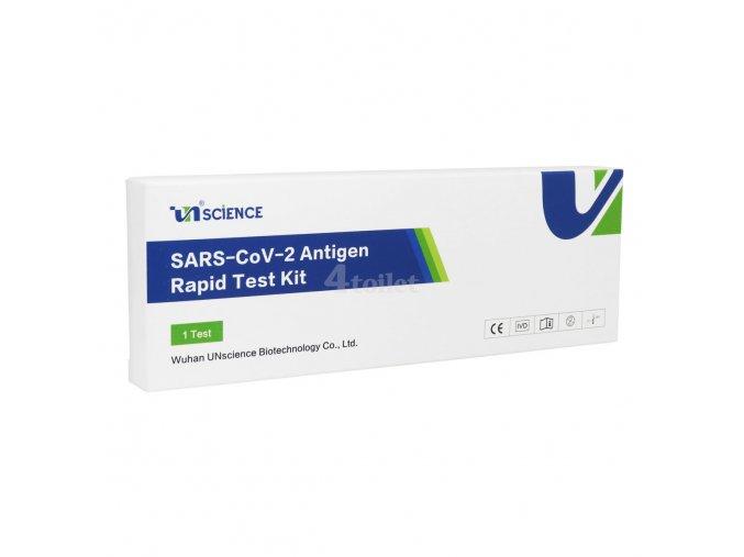 1 ks Antigenní výtěrový test na COVID-19 UNSCIENCE