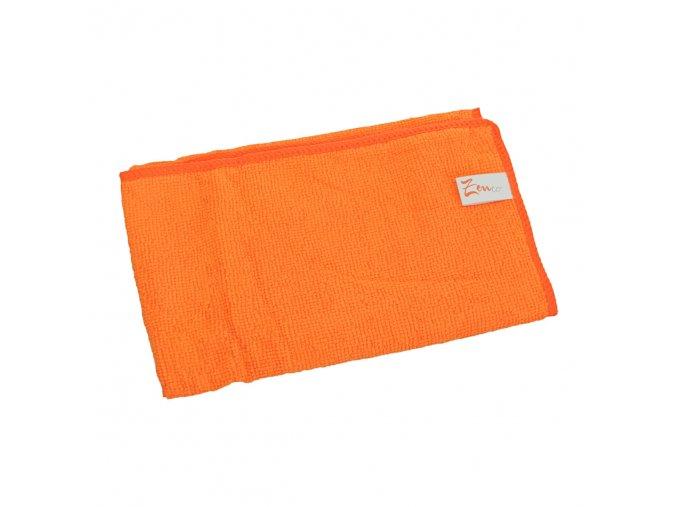 Univerzální utěrka z mikrovlákna 30x30 cm, oranžová