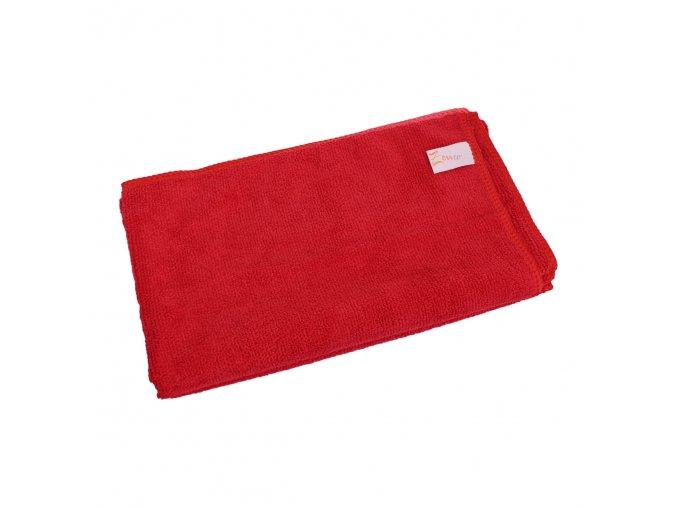 Univerzální utěrka z mikrovlákna 50x60 cm, červená