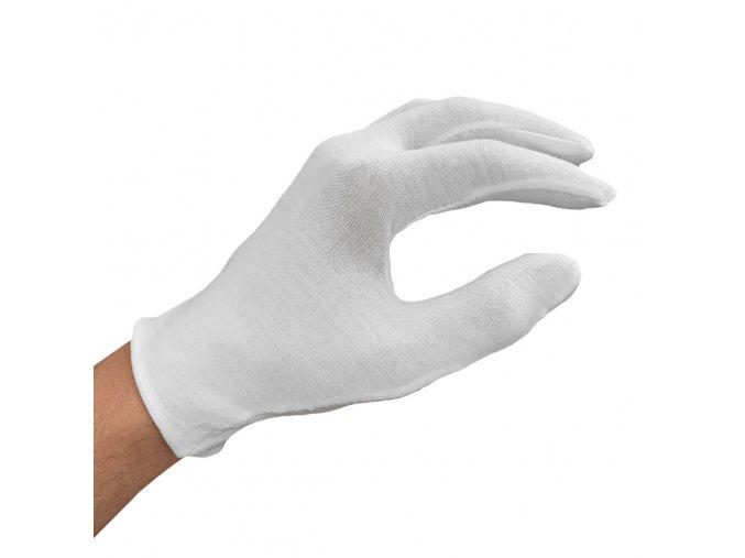 Bavlněné rukavice - balení 12 párů