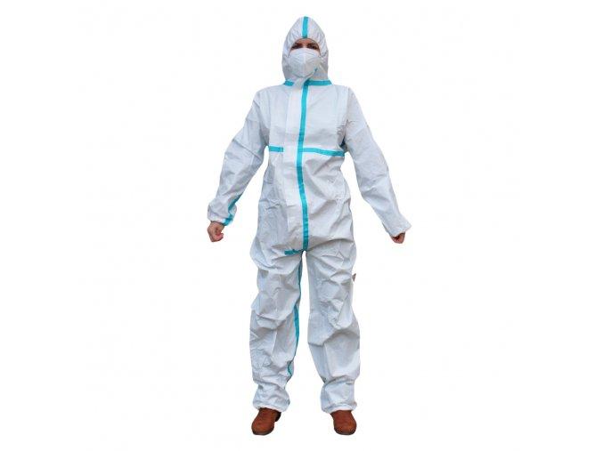 Ochranný oblek S KRYCÍ PÁSKOU TYP 5B, 6B, 50gsm