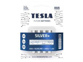 Tesla Baterie Silver AAA 2019