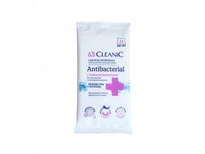 Antibakteriální vlhčené ubrousky 24ks