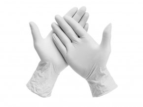 13703 transparent gloves powder free 2