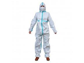 Ochranný oblek S KRYCÍ PÁSKOU TYP 5B, 6B, 55-60gsm