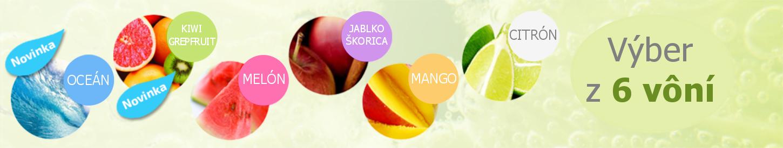 6 druhov vôní