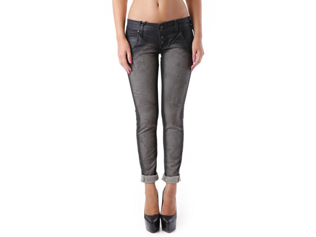 Kalhoty s tmavým sedem SEXY WOMAN [J2352]