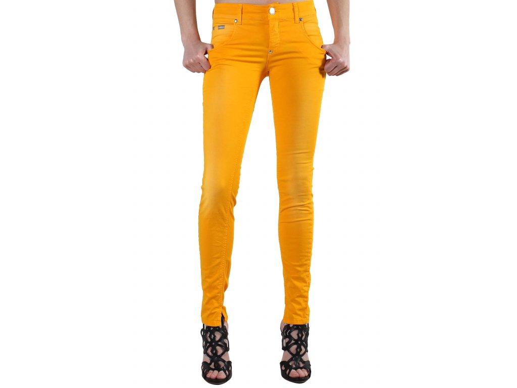 Oranžové kalhoty SEXY WOMAN [J3985B]