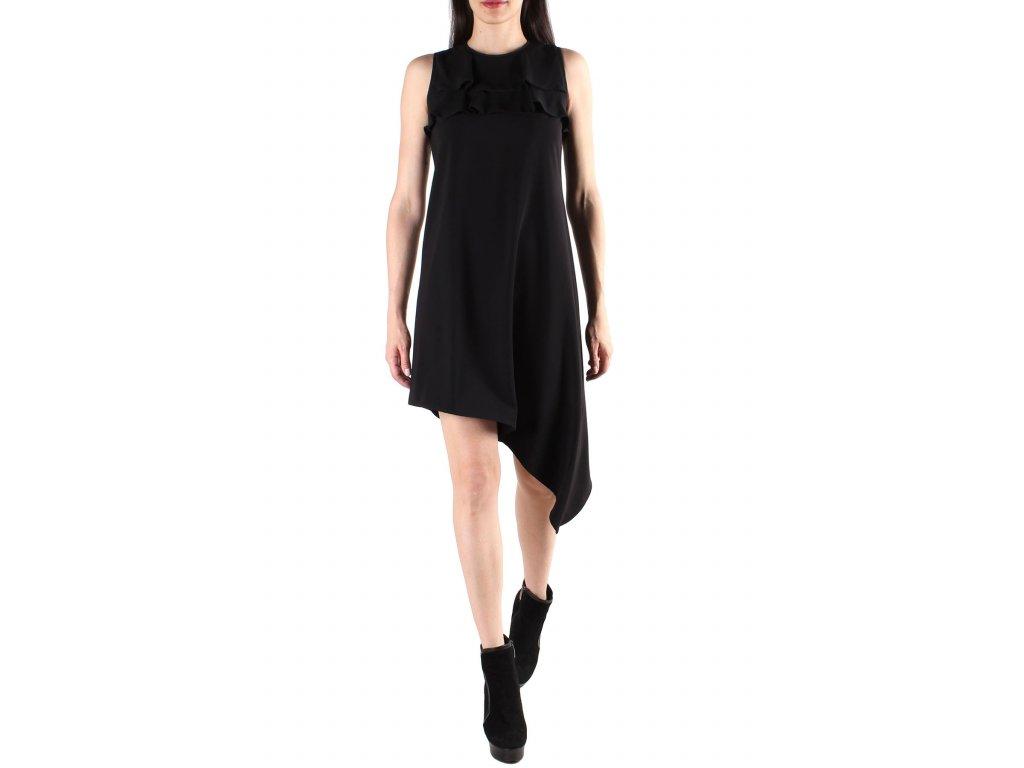 Šaty černé SEXY WOMAN [A1056A]