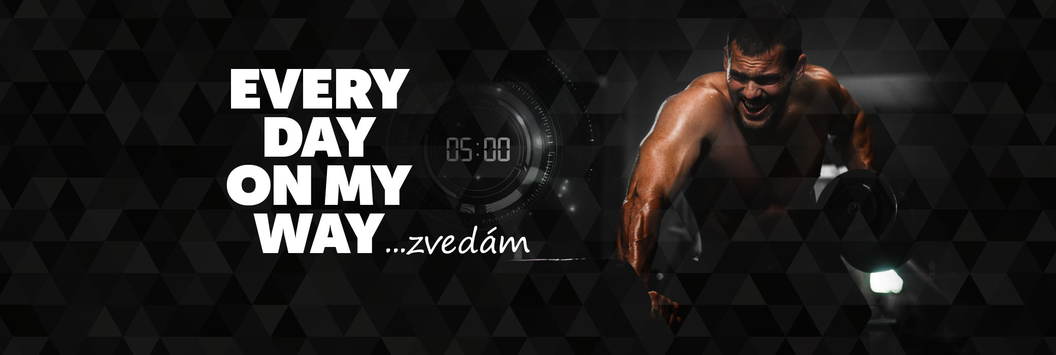 EVERY DAY ON MY WAY - zvedám