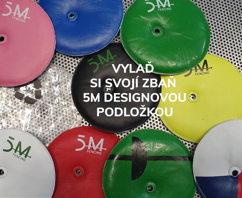 Designové podložky do číšky 5M
