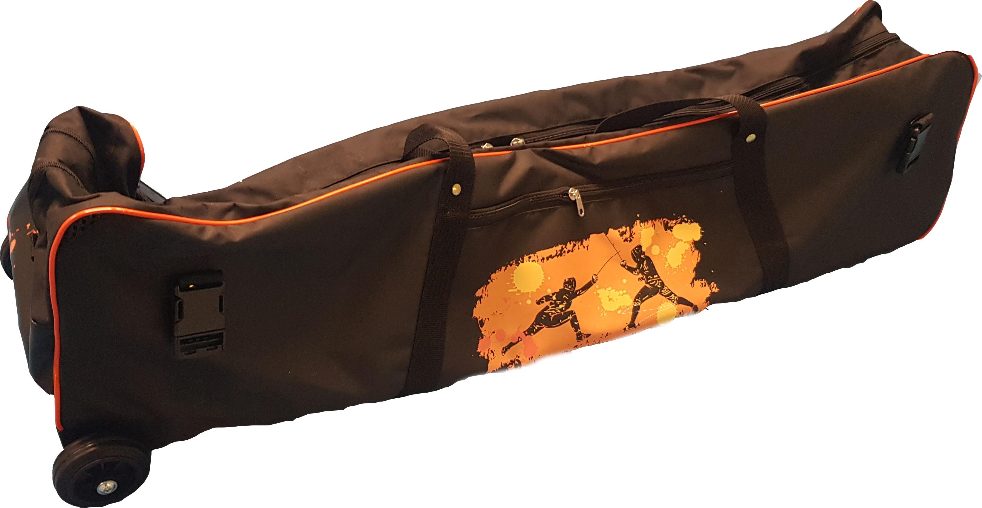 Nové jedinečné šermířské kolečkové tašky 5MFENCING  - 100% vyrobené v ČR